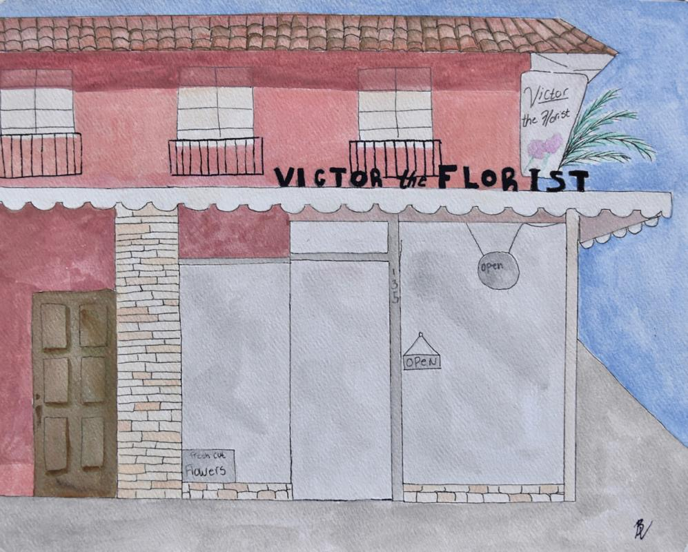 bella venable - victor the florist